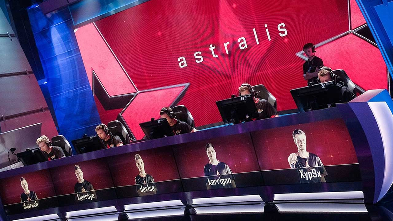 Astralis at ELEAGUE Major 2017