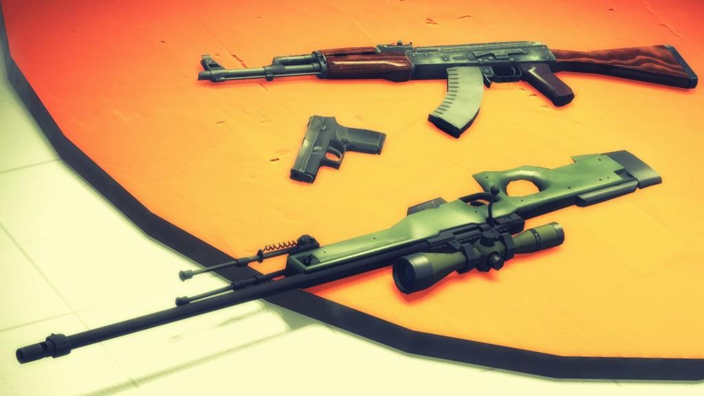 CS:GO weapons drop