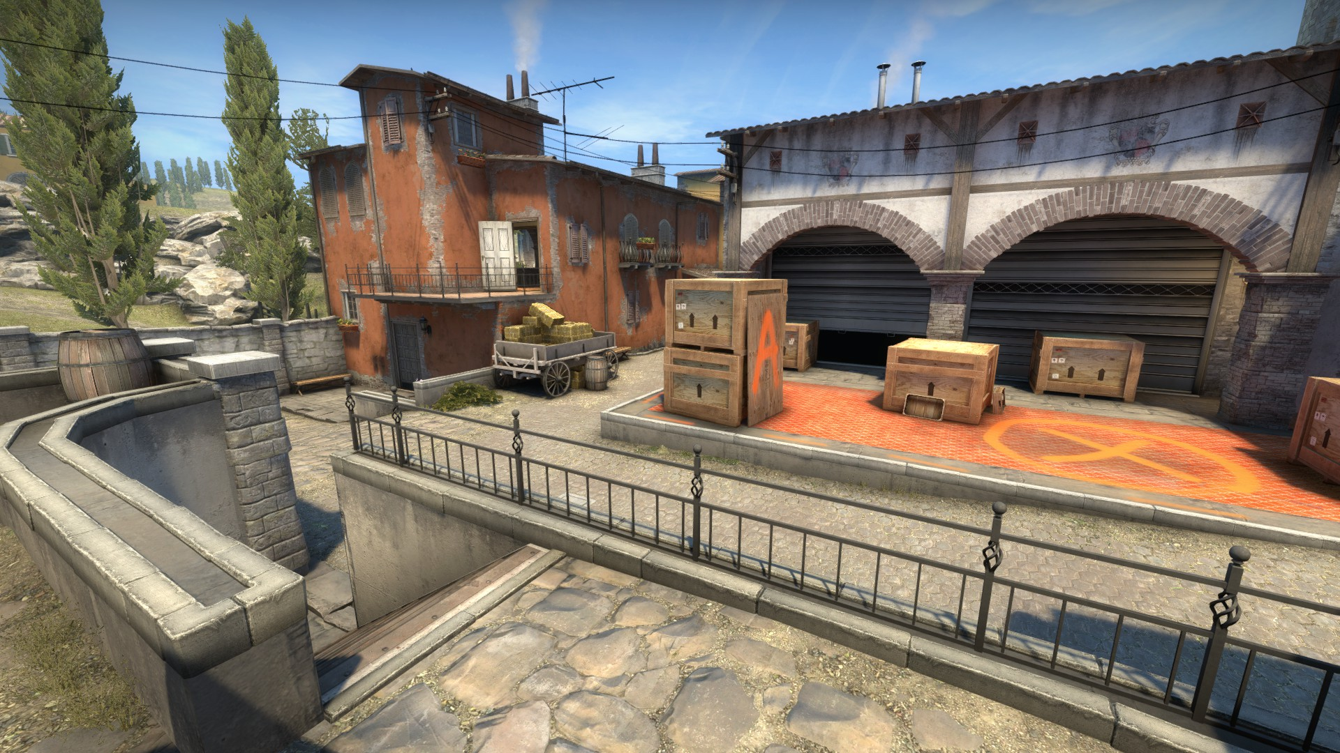 Inferno's A Site open for smokes