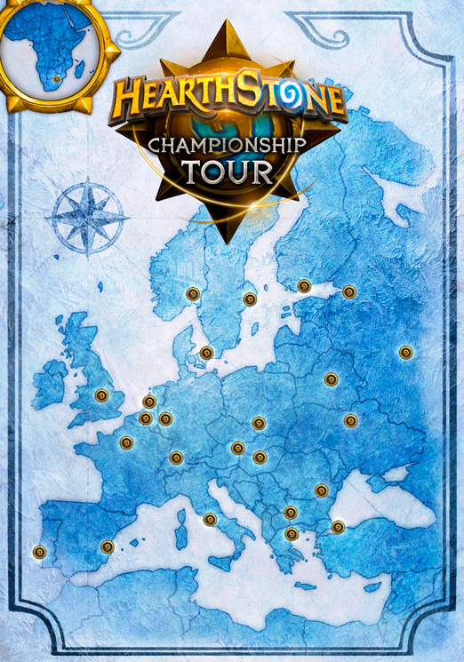 European HCT Winter Playoffs - Venue Locations