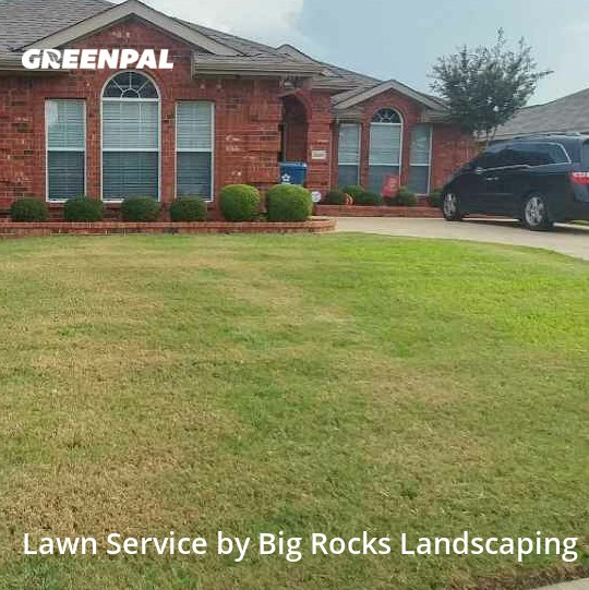 Lawn Maintenancein Sachse,75048,Lawn Maintenance by Big Rocks Landscaping, work completed in Jul , 2020