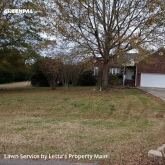 Lawn Mowing Servicein Clayton,27520,Lawn Care by Letta's Property Main, work completed in Sep , 2020