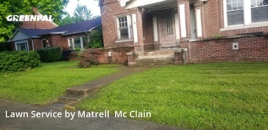 Yard Mowingin Granite City,62040,Lawn Mowing Service by Trell's Lawn Care , work completed in Jul , 2020