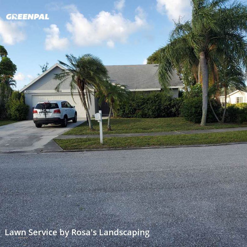 Lawn Cuttingin West Palm Beach,33417,Lawn Care Service by Rosa's Landscaping , work completed in Jul , 2020