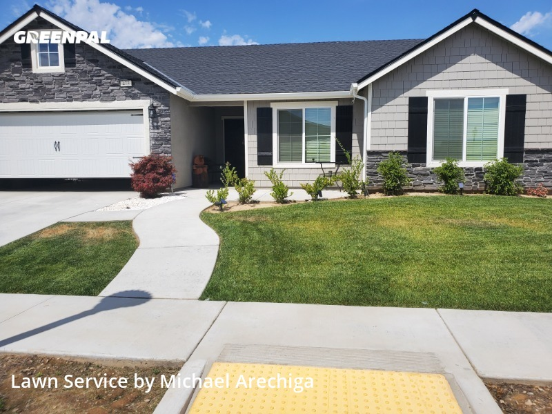 Grass Cuttingin Sanger,93657,Lawn Service by Low Cost Landscaping, work completed in Sep , 2020