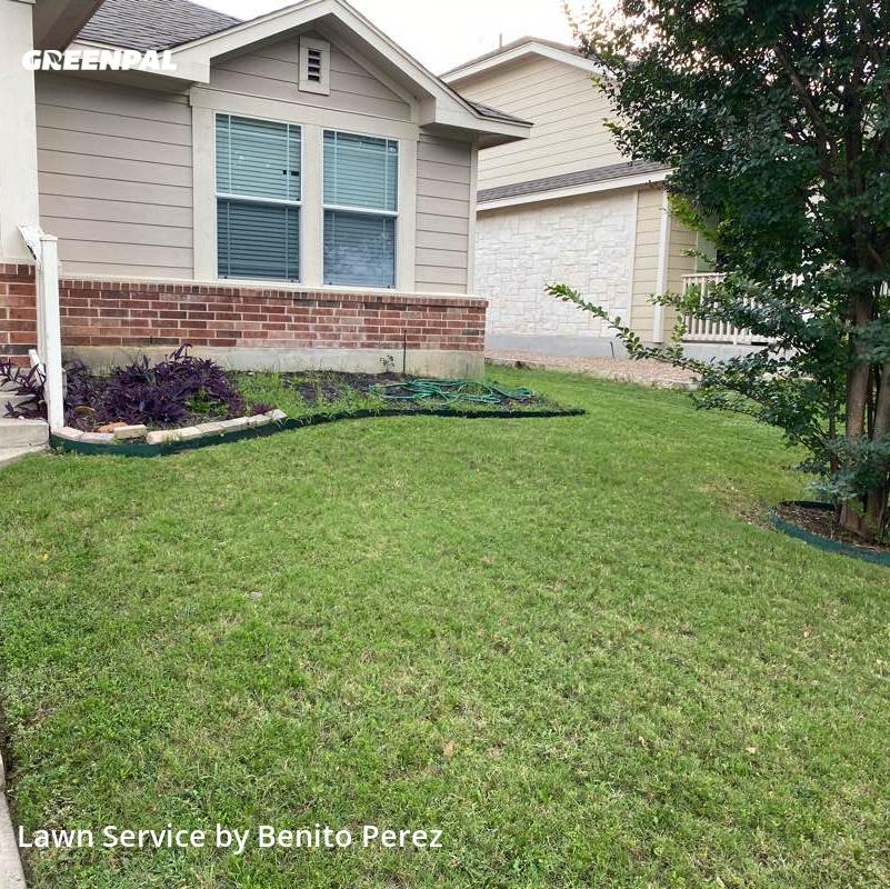 Lawn Carein Cedar Park,78613,Lawn Cutting by Benzki Lawn Care, work completed in Jul , 2020