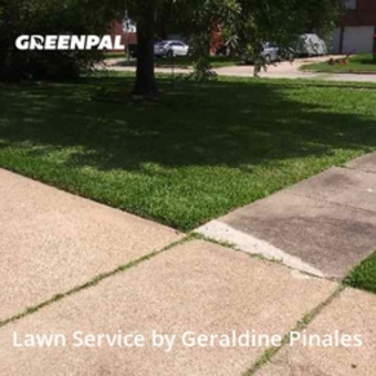 Lawn Cuttingin Stafford,77477,Lawn Care by Greenleaf Lanscaping, work completed in Oct , 2020