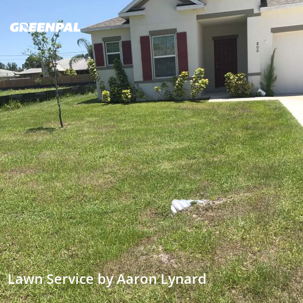 Lawn Mowingin Palm Bay,32909,Lawn Service by Bubs And Sis, work completed in Sep , 2020