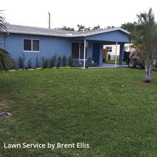 Lawn Carein Oakland Park,33309,Lawn Cut by Alimayu Lawn Care, work completed in Aug , 2020