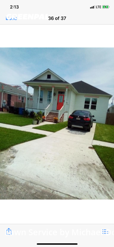 Grass Cuttingin New Orleans,70122,Lawn Care Service by Topscale Lawn Care, work completed in Aug , 2020