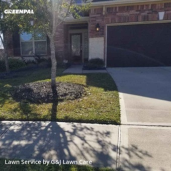 Lawn Care Servicein Cypress,77433,Yard Mowing by G&J Lawn Care, work completed in Mar , 2020