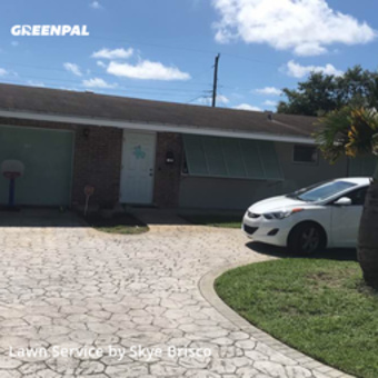 Lawn Care Servicein Pembroke Pines,33024,Lawn Care by Shades Of Green, work completed in Jul , 2020