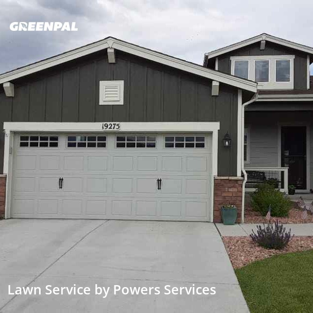 Lawn Maintenancein Arvada,80007,Grass Cut by Powers Services, work completed in Jul , 2020