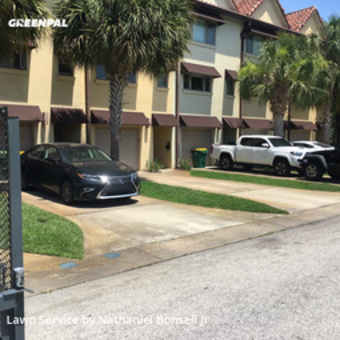 Lawn Mowingin Fl,32250,Lawn Service by Nates Lawn&Maint, work completed in May , 2020
