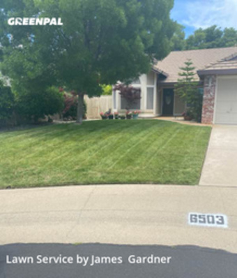 Lawn Care Servicein Rocklin,95677,Lawn Mowing by James Lawn Care, work completed in May , 2020