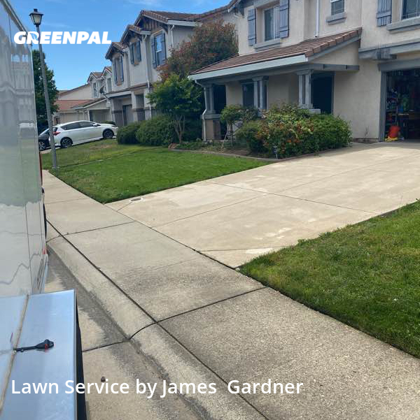 Lawn Cutin Rocklin,95765,Lawn Mowing Service by James Lawn Care, work completed in Aug , 2020