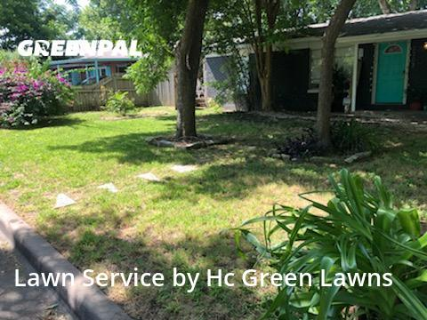 Lawn Servicein Austin,78727,Lawn Mow by Hc Green Lawns, work completed in Sep , 2020