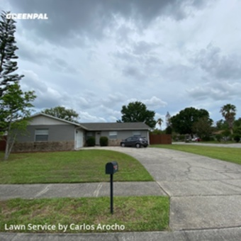 Lawn Servicein Winter Park,32792,Lawn Care Service by Arocho Landscaping , work completed in Jul , 2020