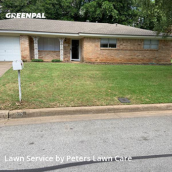 Yard Mowingin Hurst,76053,Lawn Care Service by Peters Lawn Care, work completed in Jul , 2020