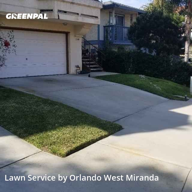 Lawn Mowin Chula Vista,91910,Lawn Mowing by Family Landscaping , work completed in Aug , 2020