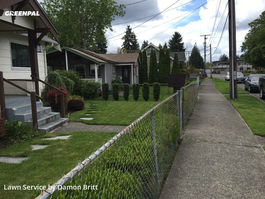 Lawn Cuttingin Renton,98057,Lawn Care Service by A Kut Above , work completed in Sep , 2020