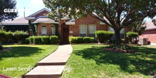 Lawn Mowing Servicein De Soto,75115,Yard Cutting by Bent Twig, work completed in Jul , 2020