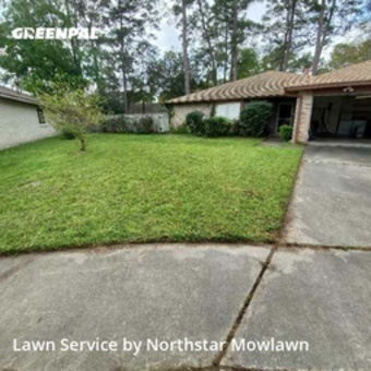 Lawn Mowingin Spring,77379,Lawn Cutting by Northstar Mowlawn , work completed in Apr , 2020