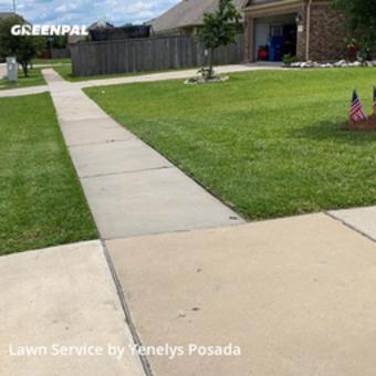 Grass Cuttingin Rosenberg,77471,Lawn Service by Lawn Impact Llc, work completed in Jul , 2020