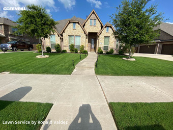 Yard Mowingin De Soto,75115,Yard Cutting by Valdez Lawn Care, work completed in Jul , 2020