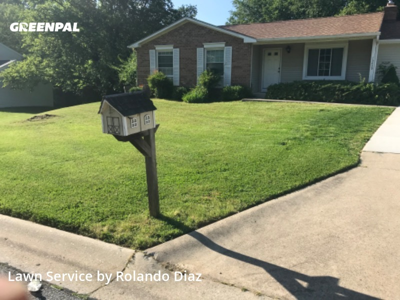 Lawn Carein Silver Spring,20904,Lawn Mow by Diaz Landscaping Llc, work completed in Sep , 2020