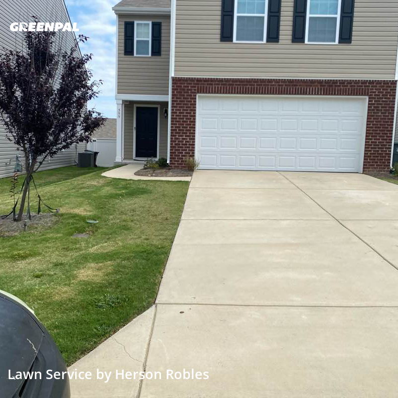 Yard Cuttingin Concord,28025,Lawn Care by H.E Landscaping Llc., work completed in Aug , 2020
