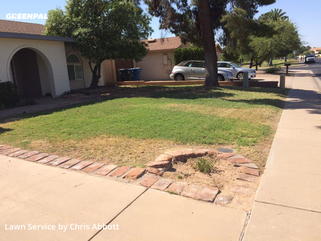 Grass Cuttingin Tempe,85283,Lawn Service by Plugman Lawn Service, work completed in Aug , 2020