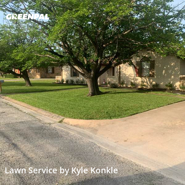 Lawn Maintenancein Princeton,75407,Lawn Mow by Kdk Landscaping, work completed in Oct , 2020