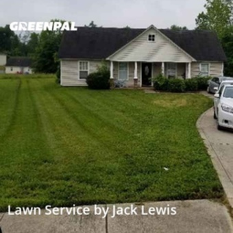Lawn Maintenancein Charlotte,28214,Yard Mowing by Ability Outdoor Serv, work completed in Aug , 2020