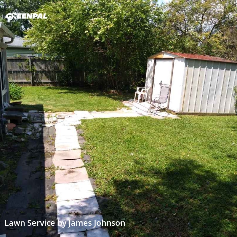 Lawn Mowingin Hampton,23663,Grass Cutting by Tender Lawn Care Llc, work completed in Jul , 2020