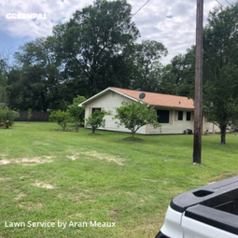 Lawn Care Servicein Orange,77630,Grass Cut by Meaux Cuts, work completed in May , 2020