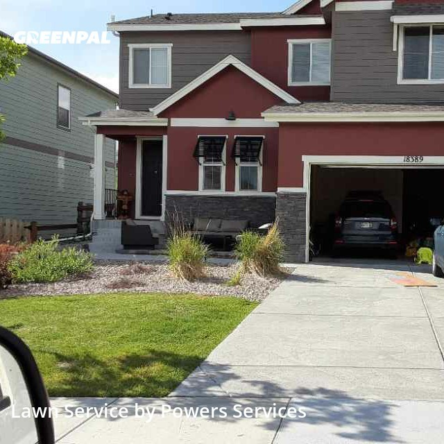 Yard Cuttingin Arvada,80007,Lawn Mowing by Powers Services, work completed in Aug , 2020