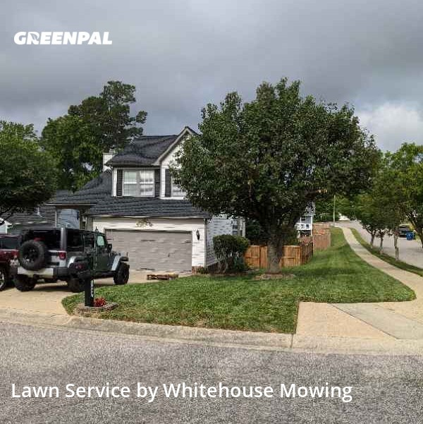 Yard Cuttingin Raleigh,27616,Lawn Care by Whitehouse Mowing, work completed in Aug , 2020