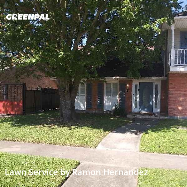 Grass Cutin Kenner,70065,Lawn Mow by Images Lawn Care, work completed in Jul , 2020