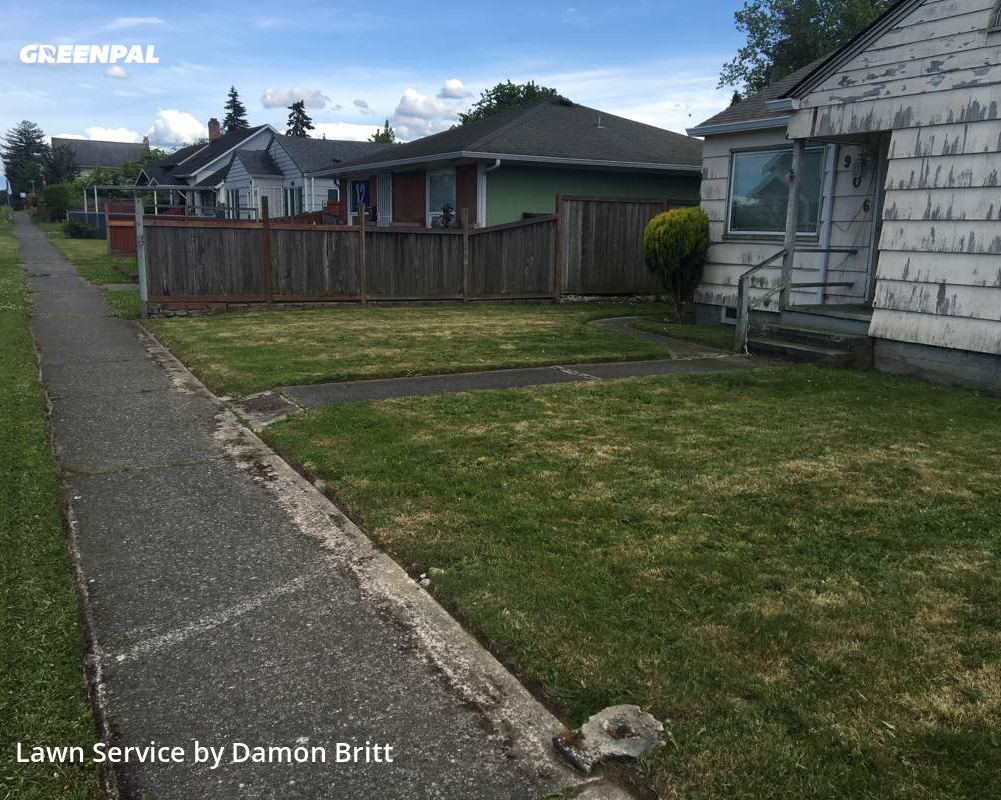 Lawn Carein Tacoma,98404,Lawn Maintenance by A Kut Above , work completed in Aug , 2020