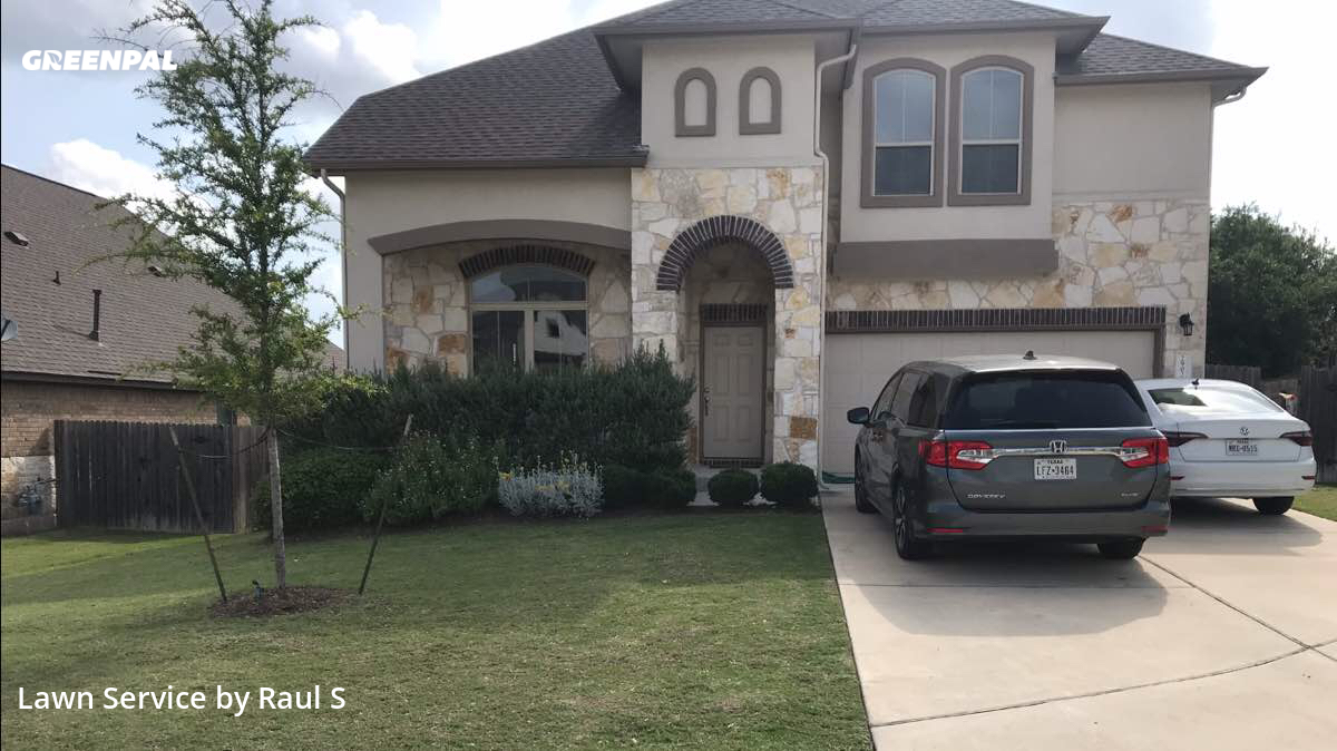 Lawn Servicein Leander,78641,Grass Cutting by Raul's Lawn Care And, work completed in Jul , 2020