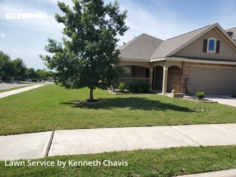 Lawn Mowingin Cibolo,78108,Grass Cutting by Bear Landscaping , work completed in Jul , 2020