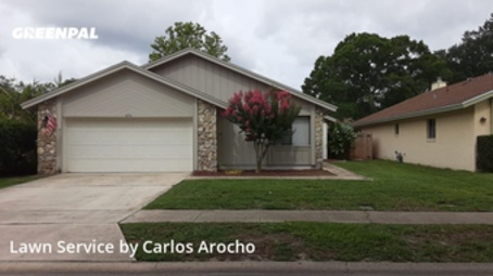 Grass Cutin Altamonte Springs,32714,Grass Cut by Arocho Landscaping , work completed in Aug , 2020