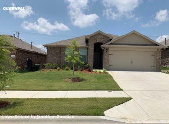 Lawn Care Servicein White Settlement,76108,Lawn Maintenance by Lawns By G, work completed in Sep , 2020