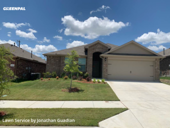 Grass Cutin White Settlement,76108,Lawn Service by Lawns By G, work completed in Sep , 2020