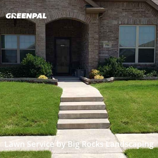 Yard Mowingin Lancaster,75146,Lawn Care Service by Big Rocks Landscaping, work completed in Sep , 2020
