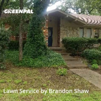 Grass Cutin Bedford,76021,Lawn Care by A Man And His Mower , work completed in May , 2020