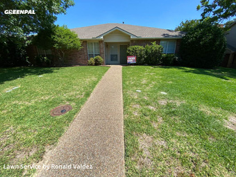 Yard Mowingin De Soto,75115,Lawn Maintenance by Valdez Lawn Care, work completed in Jul , 2020