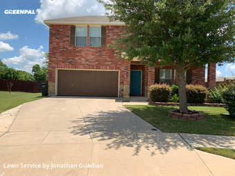 Grass Cutin Burleson,76028,Lawn Cutting by Lawns By G, work completed in Jul , 2020
