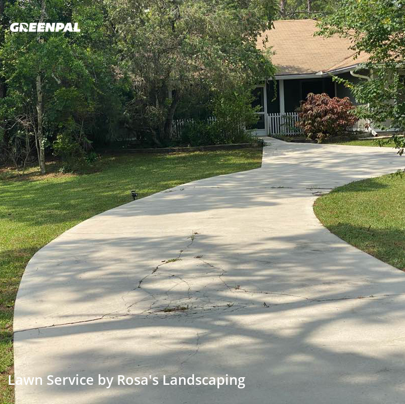 Lawn Servicein West Palm Beach,33411,Lawn Cutting by Rosa's Landscaping , work completed in Jul , 2020